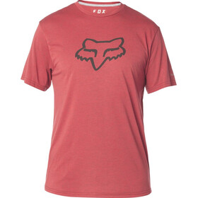 Fox Tournament Tech SS Tee Herre heather red